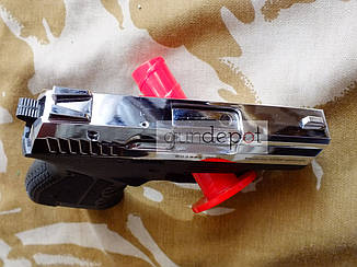 Стартовый пистолет Atak Arms Stalker 906 Shiny Chrome, фото 2