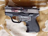 Стартовый пистолет Stalker 906 Shiny Chrome Engraved