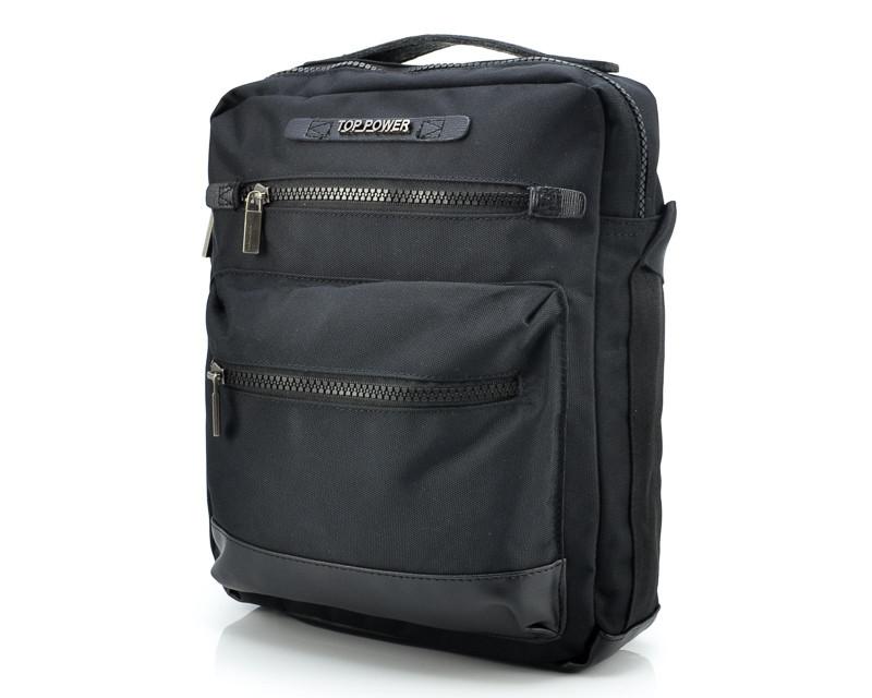 Тканевая мужская сумка Top Power 2303 Black