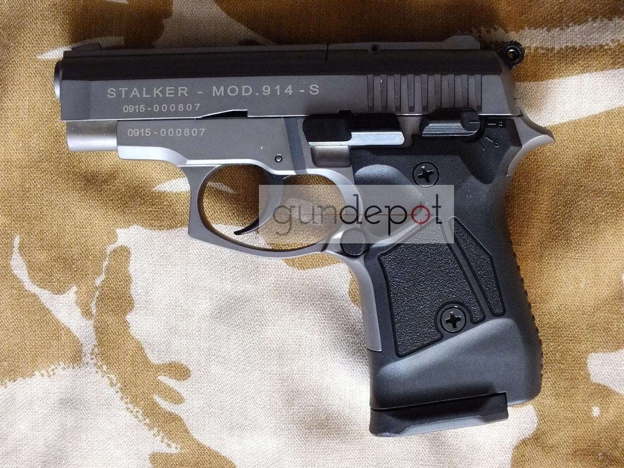 Стартовый пистолет Stalker 914 Titan