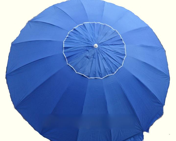 Зонт пляжний 3.5 м з клапаном 16 спиць