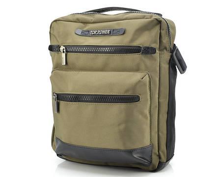 Тканевая мужская сумка Top Power 2303 Khaki