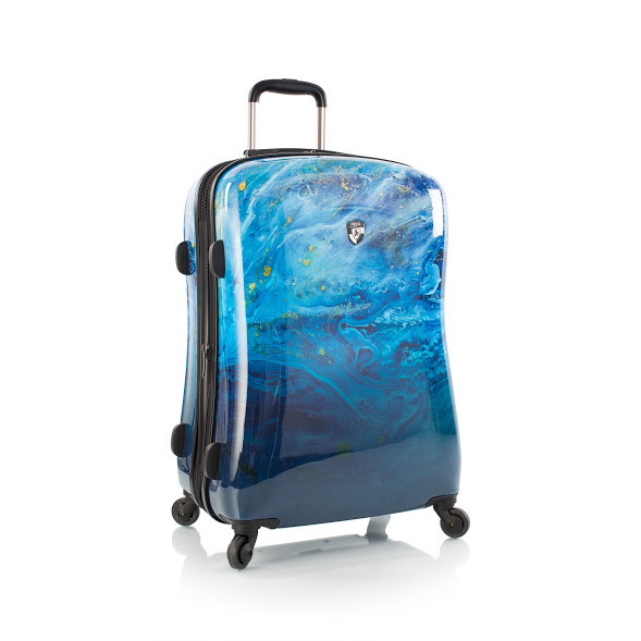 Чемодан Heys Blue Agate (M) Blue Stone