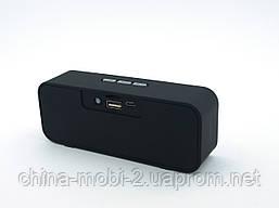 Беспроводная колонка SPS K31+BT (в стиле Xiaomi Mi Square Box) с FM/Bluetooth/MP3/USB/microSD, Black+gray, фото 2