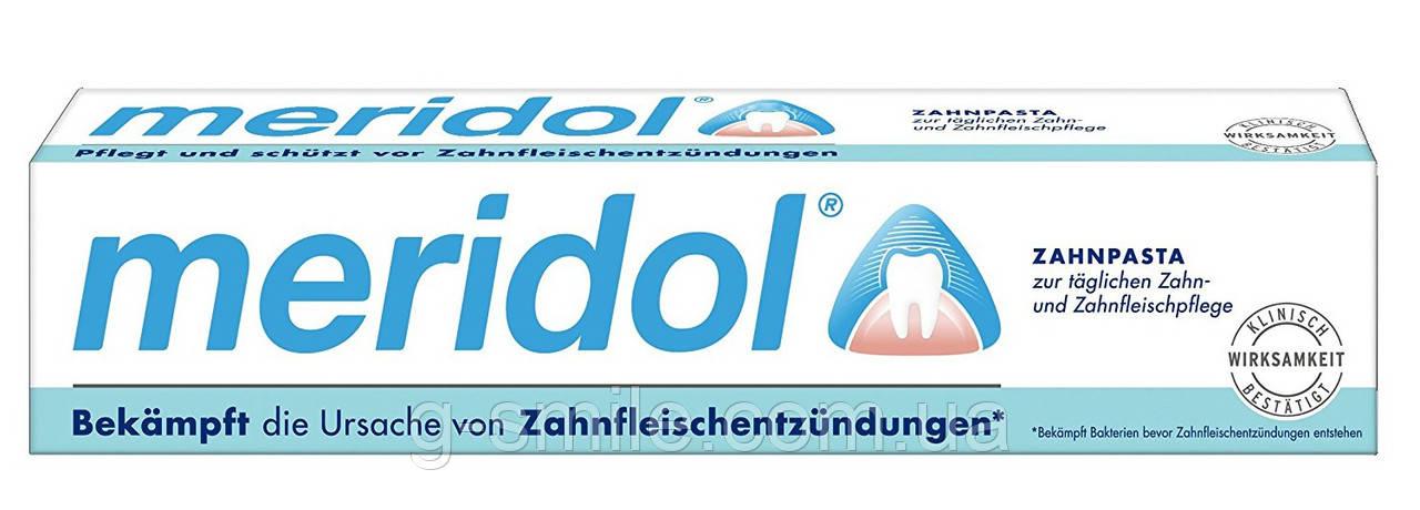Зубная паста Meridol Zahnfleischschutz защита десен Zahnpasta, 75 ml