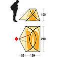 Палатка Ferrino Maverick 2 (10000) Orange/Gray, фото 3