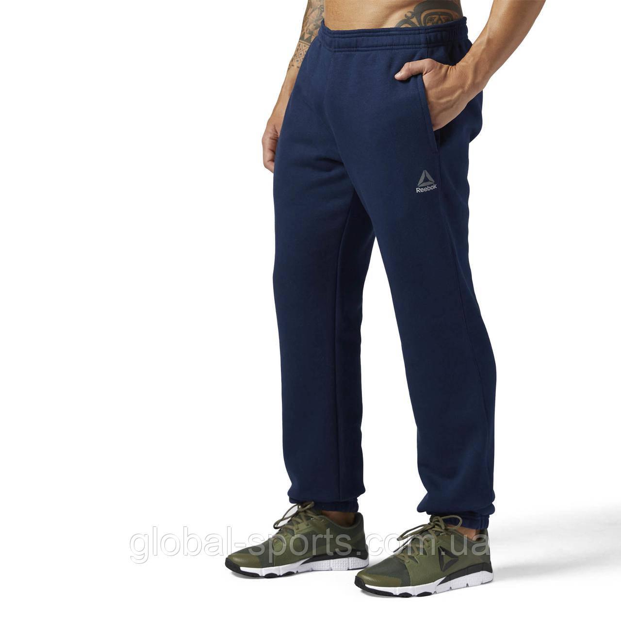 Мужские спортивные штаны Reebok Elements Cuffed Fleece(АРТИКУЛ:BK4981)