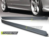 Накладки на пороги тюнинг обвес BMW E46 Coupe стиль M Sport Paket