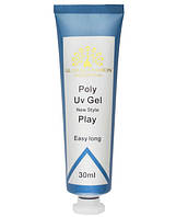 Полигель Global Fashion Poly Uv Gel прозрачный, 30 мл.
