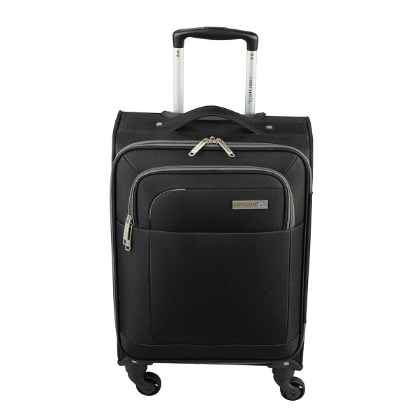 Чемодан Carry:Lite Contrast Black (S)