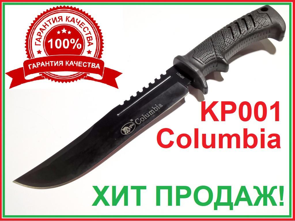 Нож охотничий в чехле фиксированный клинок матовый клинок пила литая рукоять