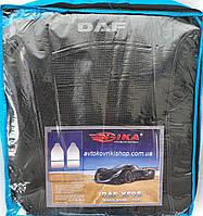 Авточехлы DAF XF 95 1+1 2002-2006 (серый) Nika