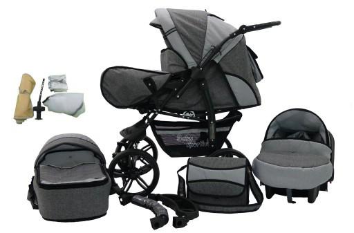 Многофункциональная детская коляска KAREX KAMIL len 3в1