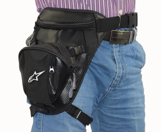 Вместительная набедренная мото сумка Alpinestars