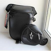 Вместительная набедренная мото сумка Alpinestars, фото 2
