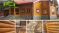 Реставрация дома из бруса
