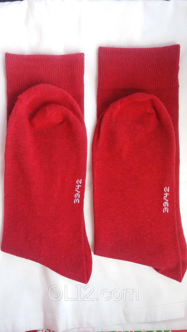 Мужские красные носки