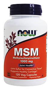 Хондропротектор NOW MSM 1000 mg 120 caps