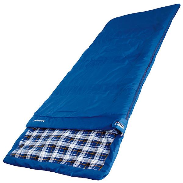 Спальный мешок High Peak Highland / +4°C (Left) blue
