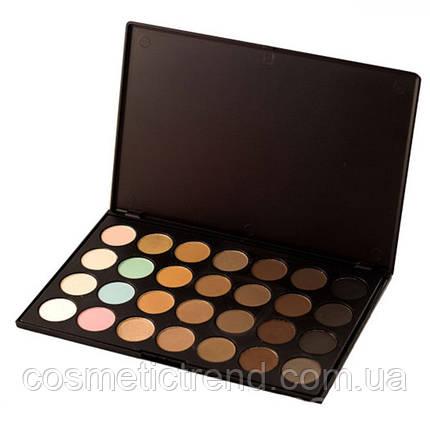 Палитра теней для глаз и пудра для бровей (28 цв) Lily Professional Colors Palette eyeshadow&eyebrow E-158-01, фото 2