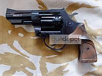 Револьвер под патрон Флобера Profi 3'' Black Pocket