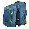 Сумка-рюкзак на колесах Granite Gear Cross Trek W/Pack 74 Bleumine/Blue Frost/Neolime, фото 3