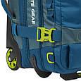 Сумка-рюкзак на колесах Granite Gear Cross Trek Wheeled 53 Bleumine/Blue Frost/Neolime, фото 6