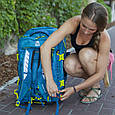 Сумка-рюкзак на колесах Granite Gear Cross Trek Wheeled 53 Bleumine/Blue Frost/Neolime, фото 9
