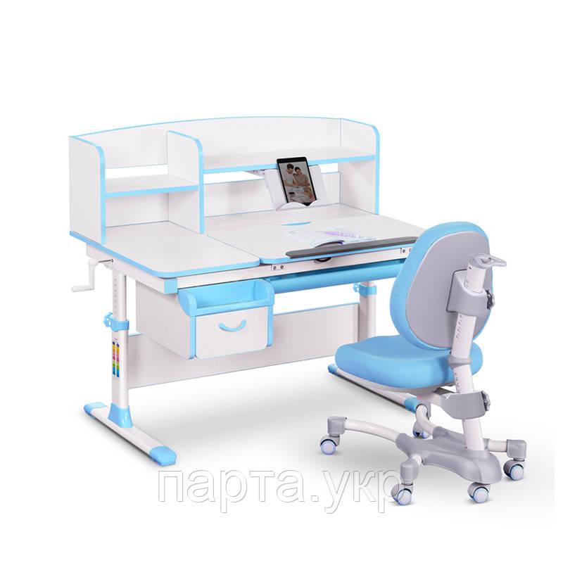 Комплект парта трансформер и кресло Evo-kids Evo-50, 120 см, 2 цвета
