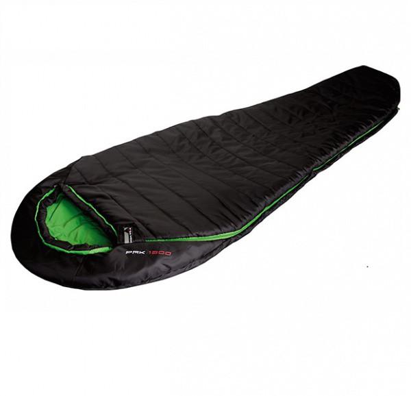 Спальный мешок High Peak Pak 1300 /+3°C (Left) Black/green