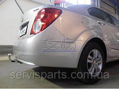 Фаркоп Chevrolet Aveo T300 2011- (Шевроле Авео)