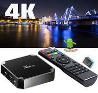 Смарт ТВ приставка Android X96 Mini Smart TV Box 1GB+8GB