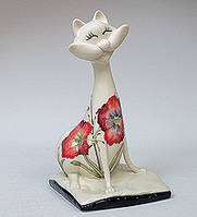 Фарфоровая статуэтка Кот (Pavone) JP-155/11
