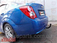 Фаркоп Chevrolet Aveo T300 2011- (Шевроле Авео) Украинский