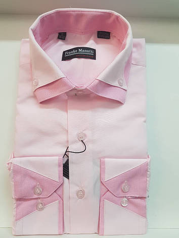 Однотонна сорочка Franko Manutti, фото 2