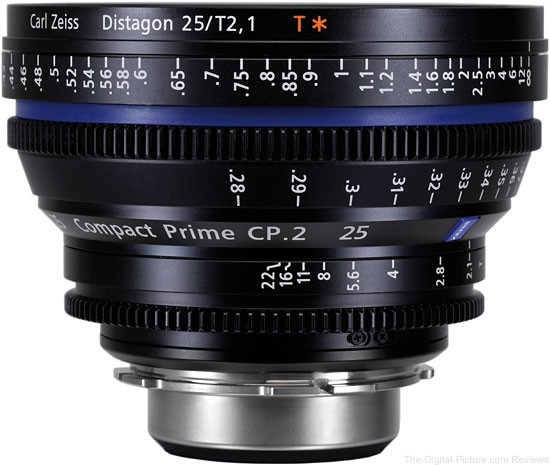 Объектив Carl Zeiss Compact Prime CP.2 25/T2.1