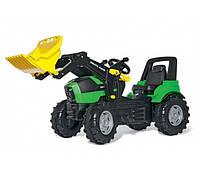 Трактор педальный с ковшом (3-8 лет) Deutz FAHR Rolly Toys 710034