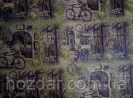 Бумага подарочная крафт 100х70см (35-88)