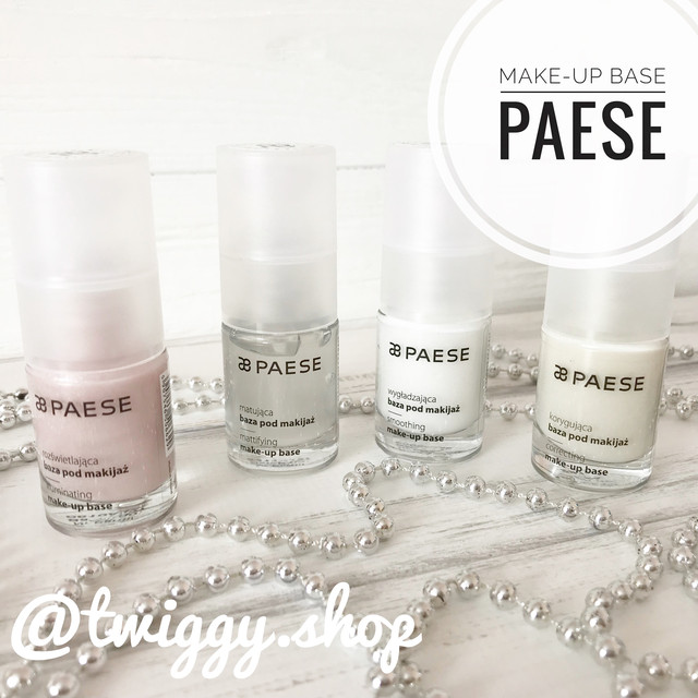 Базы под макияж (make-up base) Paese