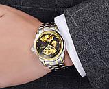 Мужские часы Bosck Механические с автоподзаводом, водонепроницаемые Black, фото 9