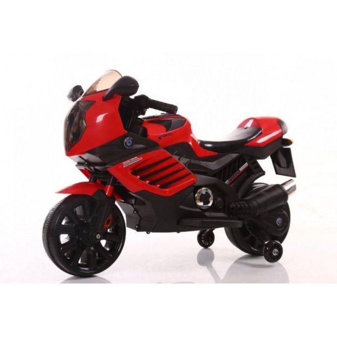 Детский мотоцикл Tilly (T-7212 RED) c двумя моторами