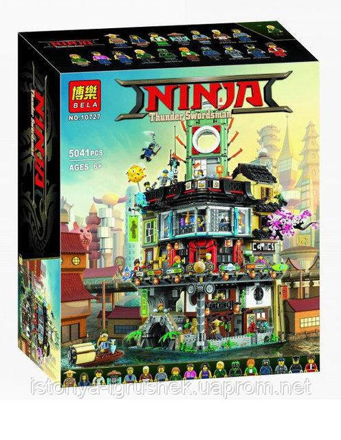 Детский конструктор Bela Ninja Ниндзяго Сити 10727, 5041 дет