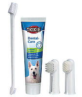 """Набор для ухода за зубами для собак """"Зубная паста и щетки"""", Trixie™"""