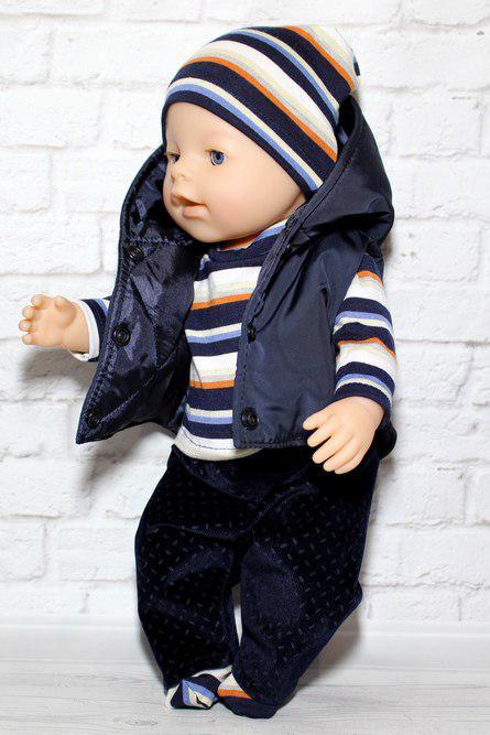 Набор одежды для куклы мальчика Baby Born разумник