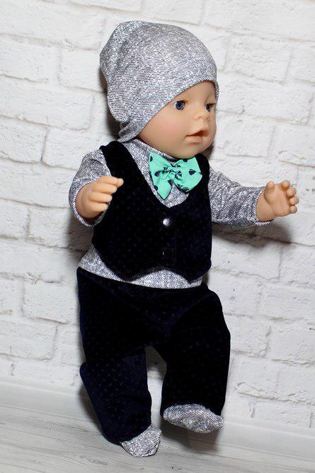 Набор одежды для куклы мальчика Baby Born крутой малыш