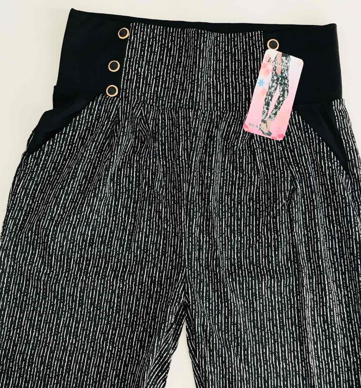 Женские лосины брюки с карманами 46-50 широкий пояс