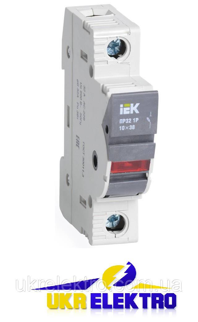 Предохранители-разъединители с индикацией ПР и плавкие вставки цилиндрические ПВЦ