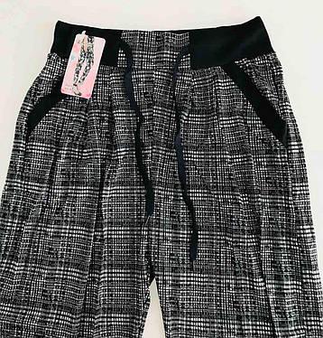 Женские лосины брюки с карманами 48-54, фото 2