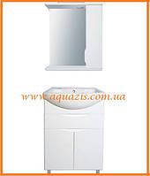 Мини-комплект мебели для ванной Аляска 60 П