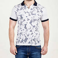 Мужская футболка ПОЛО Абстракция, фото 1